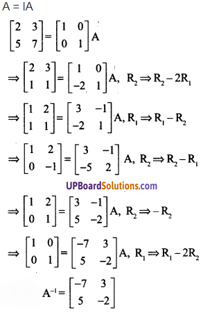 UP Board Solutions for Class 12 Maths Chapter 3 Matrices image 80