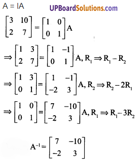 UP Board Solutions for Class 12 Maths Chapter 3 Matrices image 90