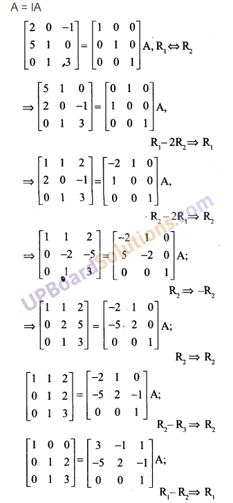 UP Board Solutions for Class 12 Maths Chapter 3 Matrices image 107