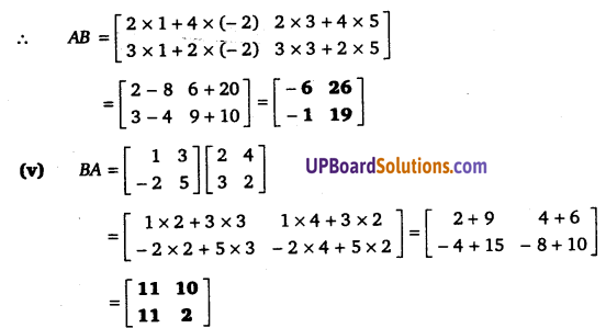 UP Board Solutions for Class 12 Maths Chapter 3 Matrices image 14