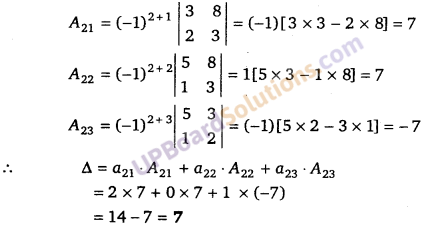 UP Board Solutions for Class 12 Maths Chapter 4 Determinants image 67
