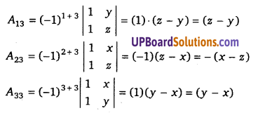 UP Board Solutions for Class 12 Maths Chapter 4 Determinants image 69