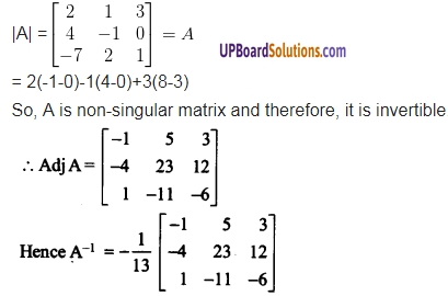UP Board Solutions for Class 12 Maths Chapter 4 Determinants image 93