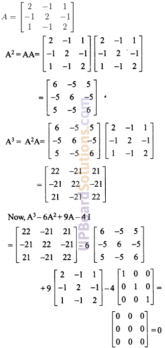 UP Board Solutions for Class 12 Maths Chapter 4 Determinants image 111