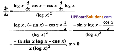 UP Board Solutions for Class 12 Maths Chapter 5 Continuity and Differentiability image 121