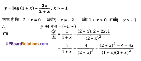 UP Board Solutions for Class 12 Maths Chapter 6 Application of Derivatives image 31