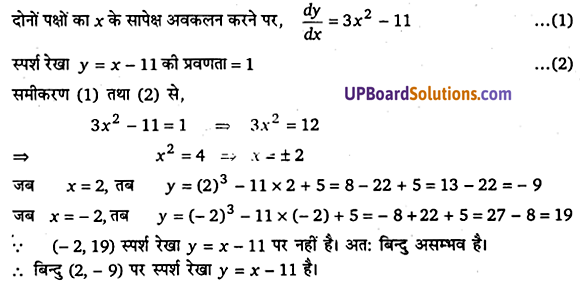 UP Board Solutions for Class 12 Maths Chapter 6 Application of Derivatives image 54