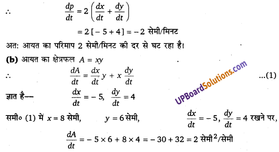 UP Board Solutions for Class 12 Maths Chapter 6 Application of Derivatives image 7