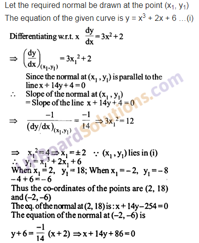 UP Board Solutions for Class 12 Maths Chapter 6 Application of Derivatives image 73