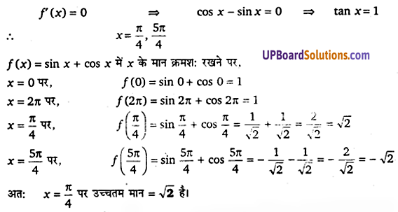 UP Board Solutions for Class 12 Maths Chapter 6 Application of Derivatives image 119