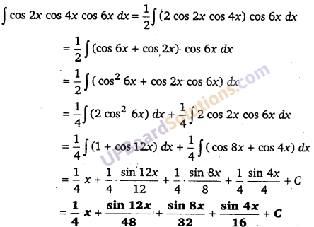 UP Board Solutions for Class 12 Maths Chapter 7 Integrals image 109
