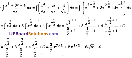UP Board Solutions for Class 12 Maths Chapter 7 Integrals image 16