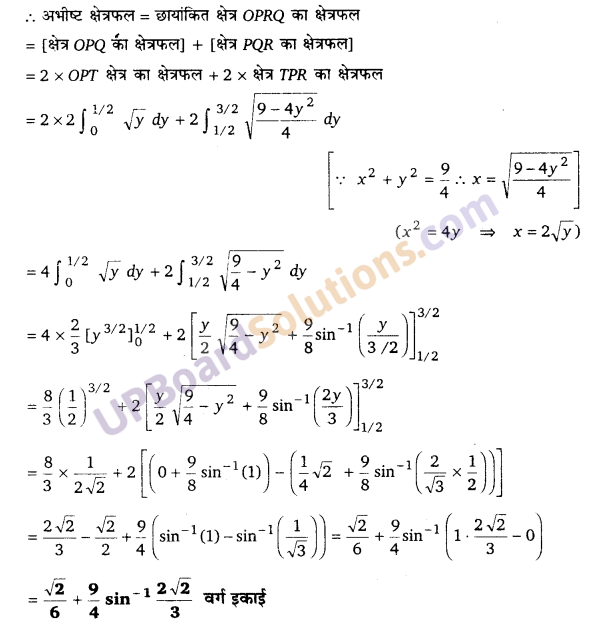 UP Board Solutions for Class 12 Maths Chapter 8 Application of Integrals image 23
