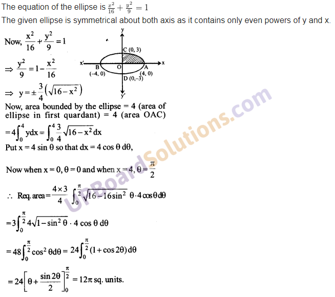 UP Board Solutions for Class 12 Maths Chapter 8 Application of Integrals image 4