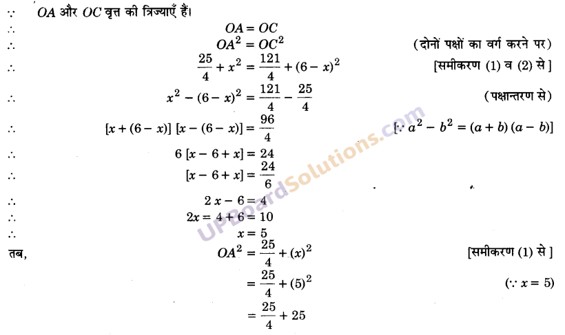 UP Board Solutions for Class 9 Maths Chapter 10 Circle img-31