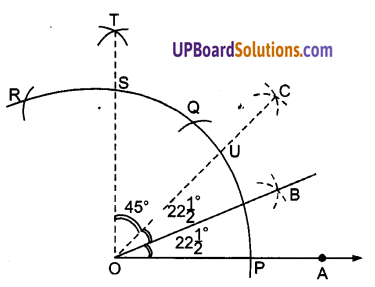 UP Board Solutions for Class 9 Maths Chapter 11 Constructions img-4