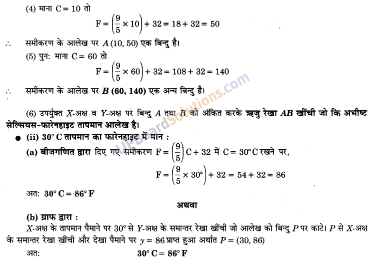 UP Board Solutions for Class 9 Maths Chapter 4 Linear Equations in Two Variables img-17