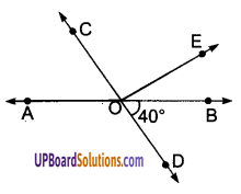 UP Board Solutions for Class 9 Maths Chapter 6 Lines and Angles img-1