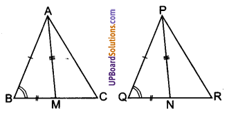 UP Board Solutions for Class 9 Maths Chapter 7 Triangles img-21