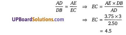 Balaji Class 10 Maths Solutions Chapter 7 Triangles Ex 7.1 2