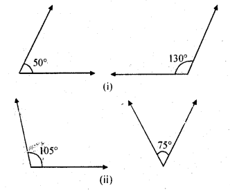 RBSE Solutions for Class 7 Maths Chapter 7 कोण एवं रेखाएँ In Text Exercise 3