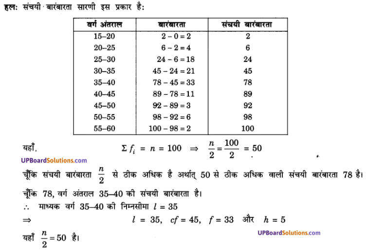 UP Board Solutions for Class 10 Maths Chapter 14 Statistics img 10