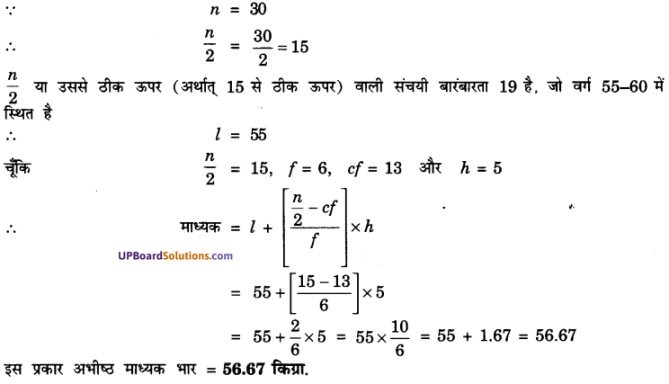 UP Board Solutions for Class 10 Maths Chapter 14 Statistics img 24
