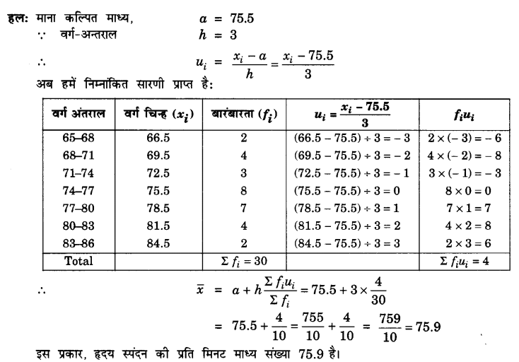 UP Board Solutions for Class 10 Maths Chapter 14 Statistics page 296 4.1