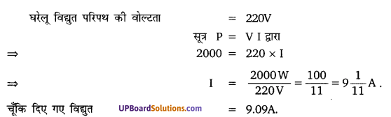 UP Board Solutions for Class 10 Science Chapter 13 Magnetic Effects of Electric Current img-6