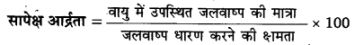UP Board Solutions for Class 11 Geography Fundamentals of Physical Geography Chapter 11 Water in the Atmosphere (वायुमंडल में जल) img 1