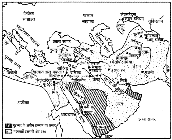 UP Board Solutions for Class 11 History Chapter 4 The Central Islamic Lands image 5