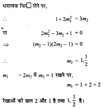 UP Board Solutions for Class 11 Maths Chapter 10 Straight Lines 10.1 11.1