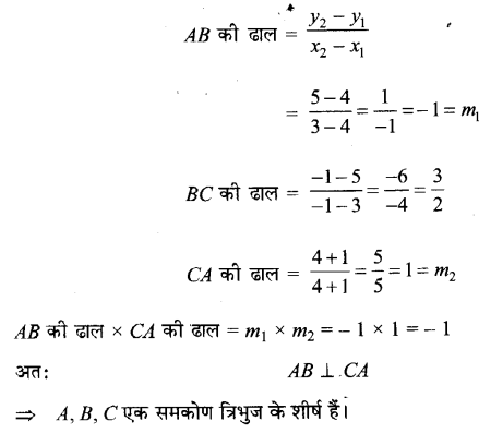 UP Board Solutions for Class 11 Maths Chapter 10 Straight Lines 10.1 6.1