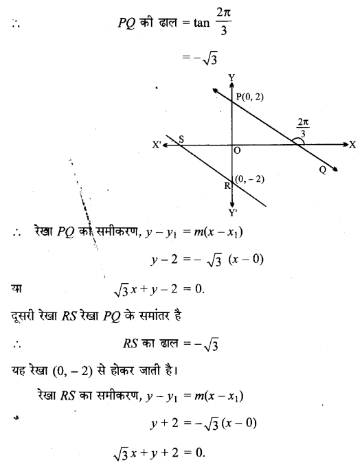 UP Board Solutions for Class 11 Maths Chapter 10 Straight Lines 10.2 14