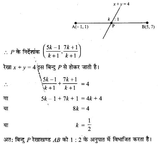 UP Board Solutions for Class 11 Maths Chapter 10 Straight Lines 14