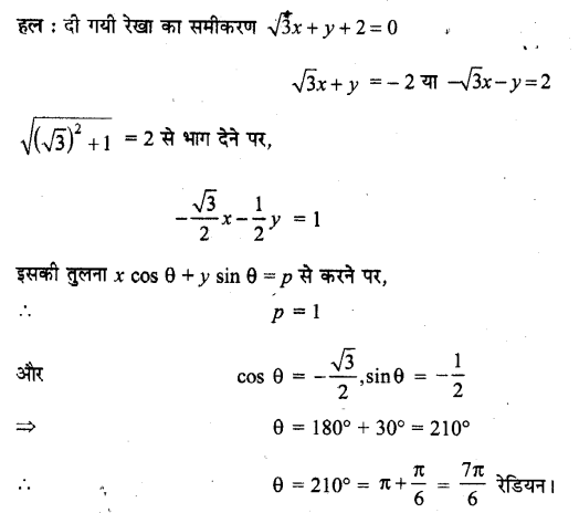 UP Board Solutions for Class 11 Maths Chapter 10 Straight Lines 2