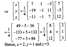 UP Board Solutions for Class 12 Maths Chapter 4 Determinants image 135