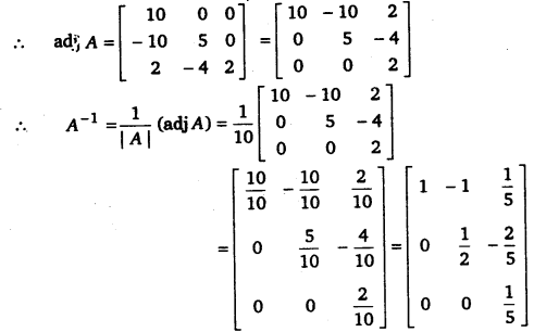 UP Board Solutions for Class 12 Maths Chapter 4 Determinants image 88