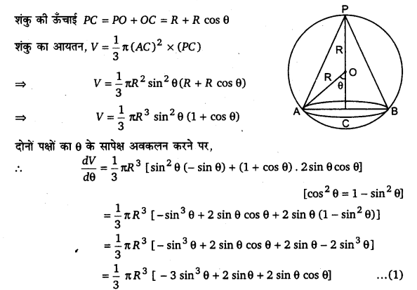 UP Board Solutions for Class 12 Maths Chapter 6 Application of Derivatives image 135