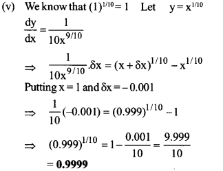 UP Board Solutions for Class 12 Maths Chapter 6 Application of Derivatives image 88