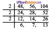 UP Board Solutions for Class 6 Maths Chapter 10लघुत्तम समापवर्त्य एवं महत्तम समापवर्तक 10