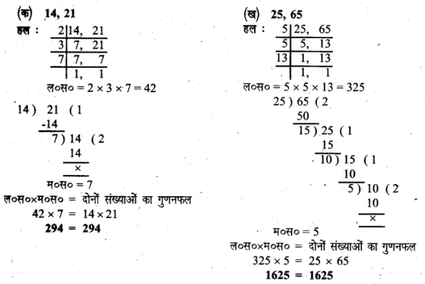 UP Board Solutions for Class 6 Maths Chapter 10लघुत्तम समापवर्त्य एवं महत्तम समापवर्तक 21