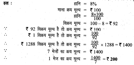 UP Board Solutions for Class 6 Maths Chapter 12वाणिज्य गणित 12i 11