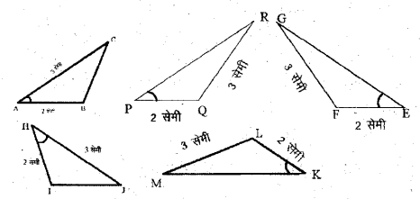 UP Board Solutions for Class 6 Maths Chapter 13 त्रिभुज 13c 1