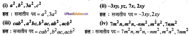 UP Board Solutions for Class 6 Maths Chapter 6बीजीय व्यंजक 14