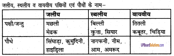 UP Board Solutions for Class 6 Science Chapter 7जीवों में अनुकूलन img-2