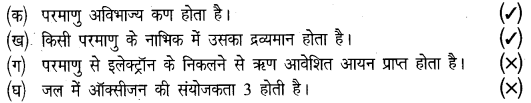 UP Board Solutions for Class 8 Science Chapter 3परमाणु की संरचना img-1