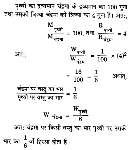 UP Board Solutions for Class 9 Science Chapter 10 Gravitation image -1