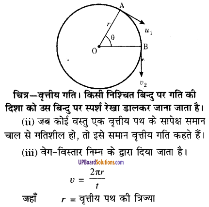 UP Board Solutions for Class 9 Science Chapter 8 Motion image -43