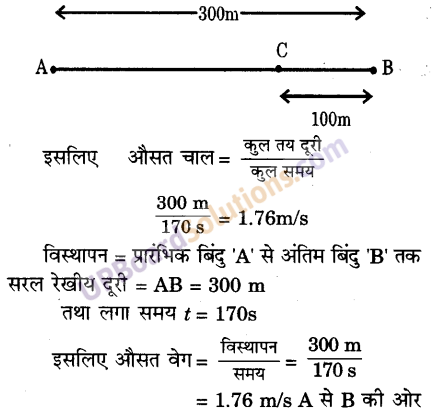 UP Board Solutions for Class 9 Science Chapter 8 Motion image -8